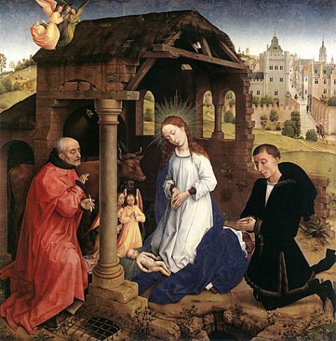 Szuletes_Rogier_van_der_Weyden1445-50