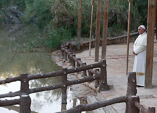 ferenc a jordánnál