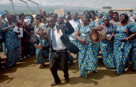 mukwege fogadtatása