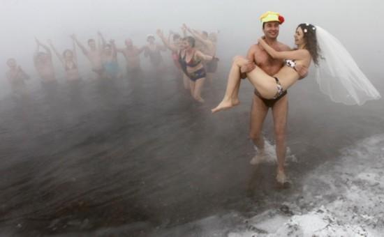 téli esküvő orosz