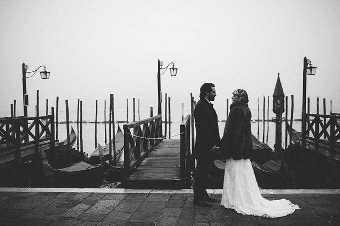 téli esküvő velence