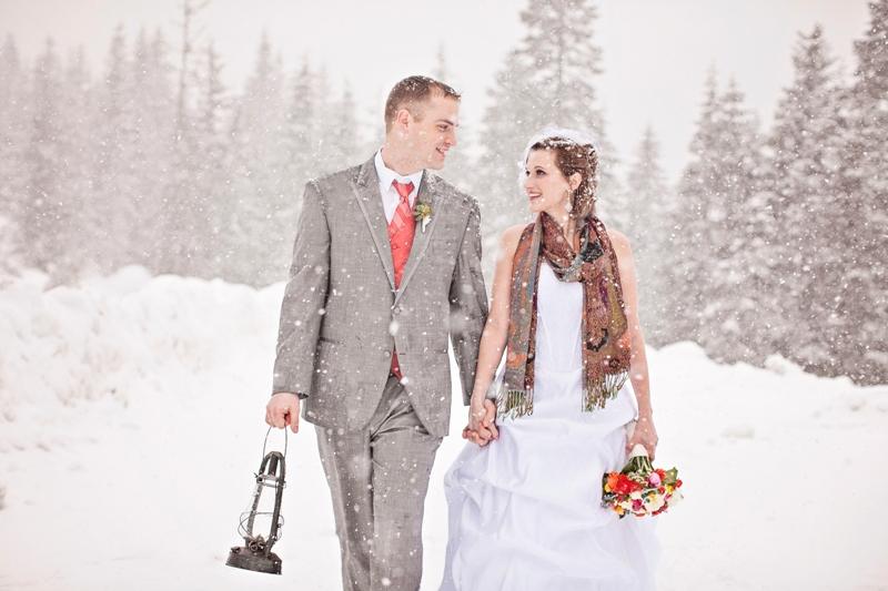 téli esküvő washington