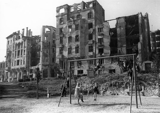 krisztinaváros háború után