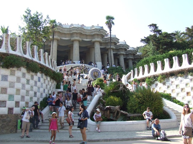 Barcelona GuellPark4