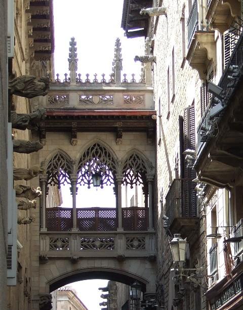 Barcelona utca
