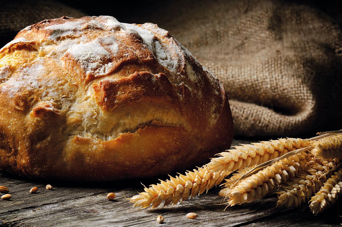 kenyér gabona zsák