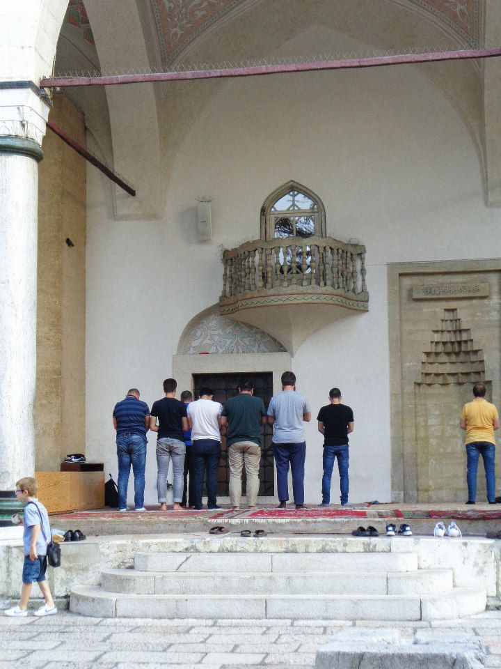 szarajevó imádkozók