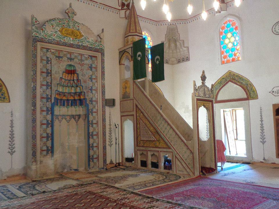 szarajevó mecset belső