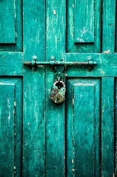 zárt kapu