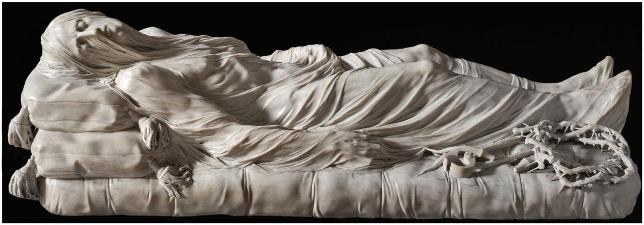 Giuseppe Sanmartino Leples Krisztus, 1753